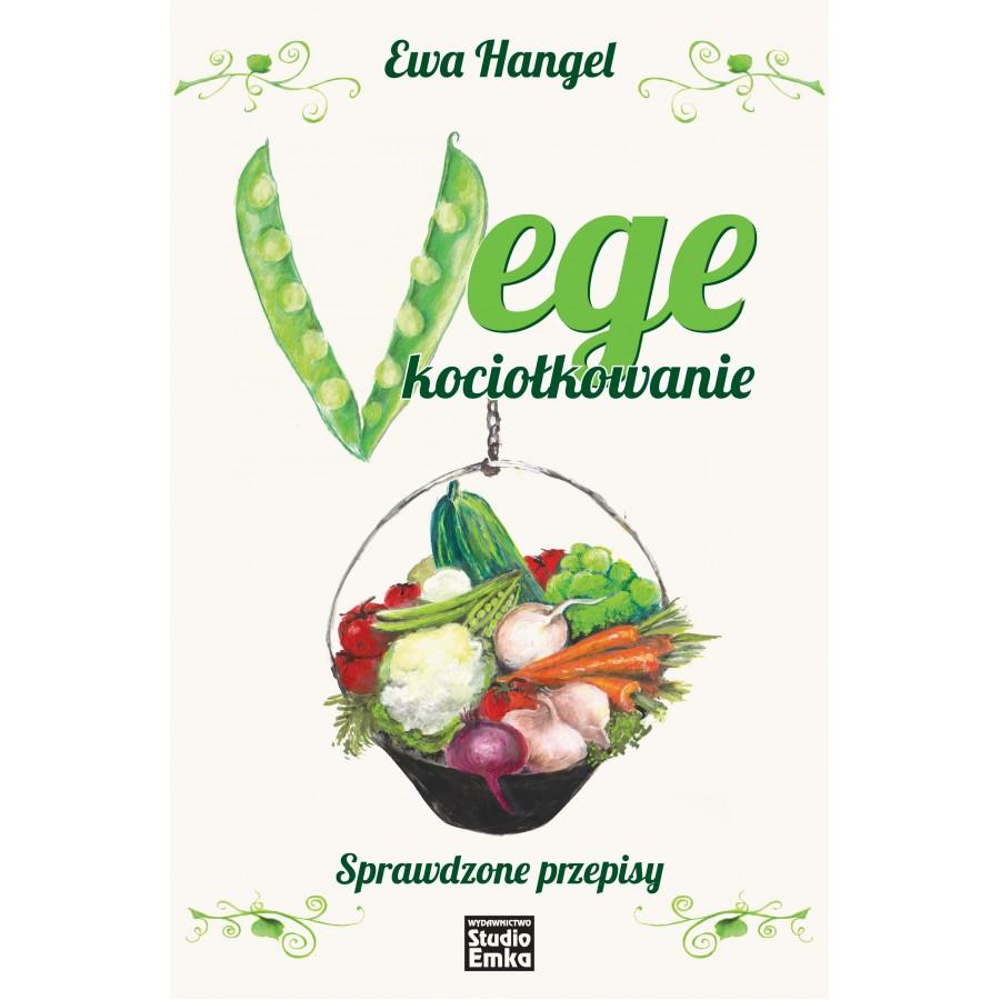 Vege kociołkowanie - sprawdzone przepisy, książka z autografem, Ewa Hangel