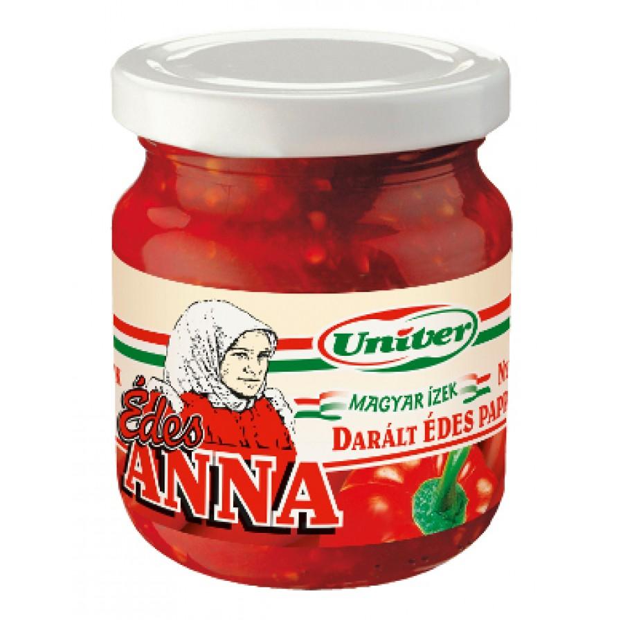 Przecier paprykowy łagodny Edes Anna, 200 gram