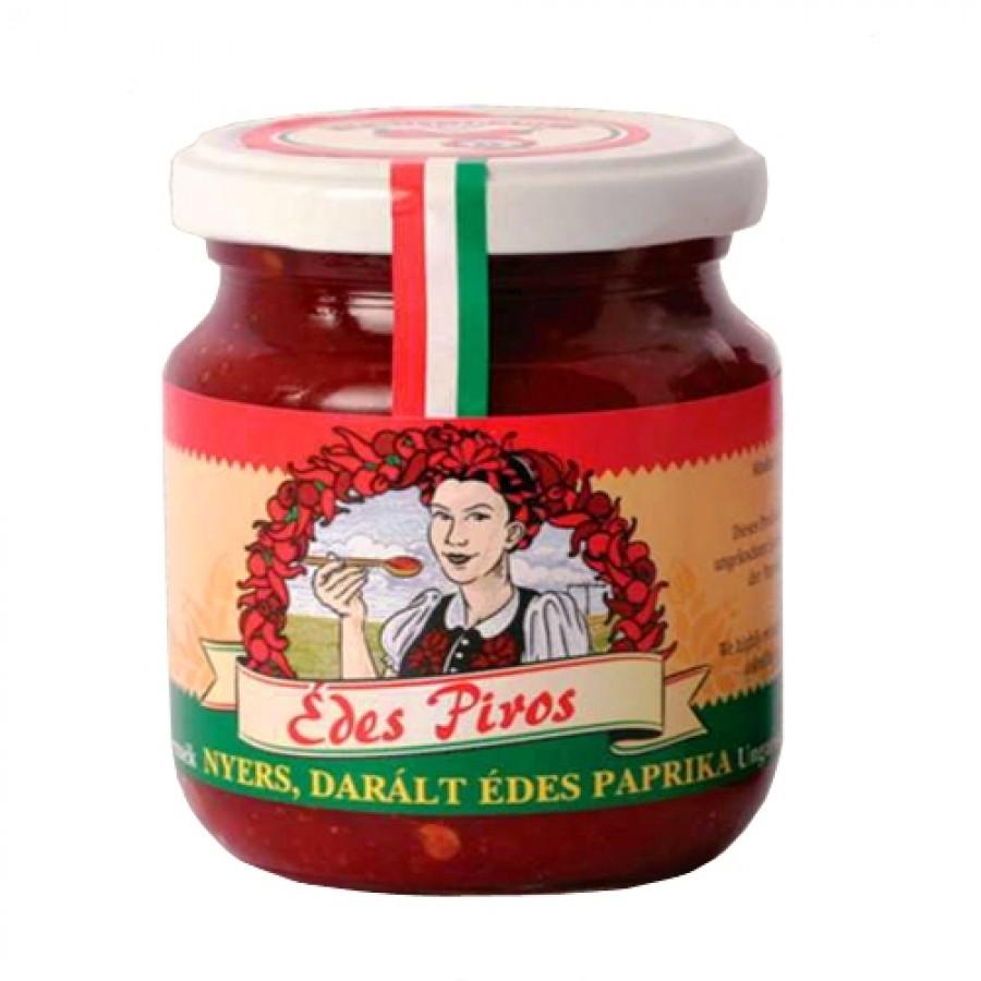 Przecier paprykowy węgierski łagodny Edes Piros, 200 gram