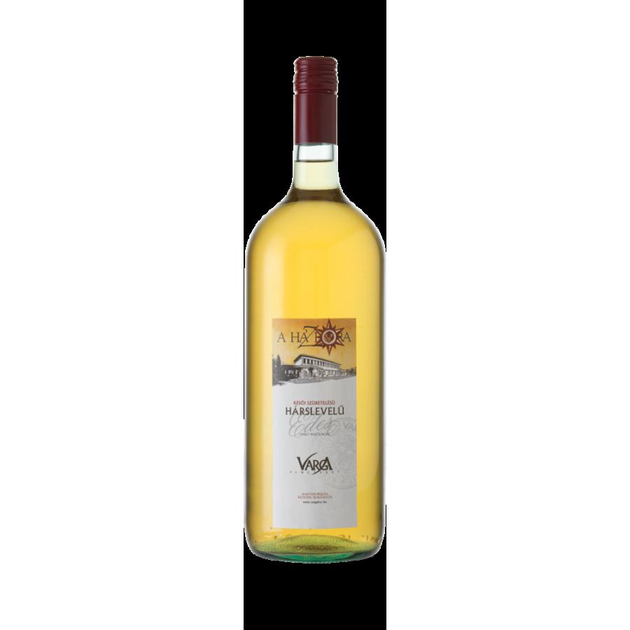 Harslevelu, białe wino słodkie, późny zbiór, 1,5 l Badacsony