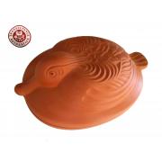 Duży garnek rzymski do pieczenia kaczki, zapiekanek 5 l