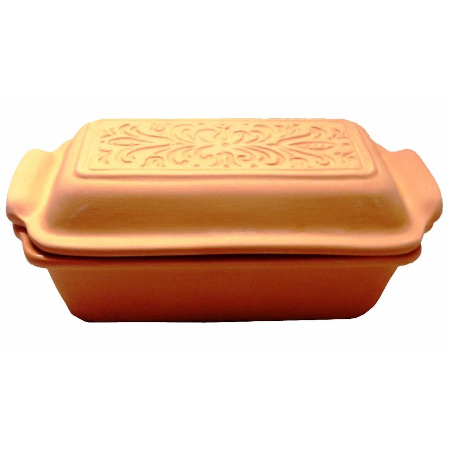 Mała forma do chleba i pasztetu z pokrywką, 1 l