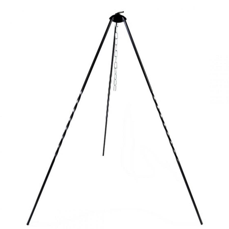 Trójnóg kociołkowy o wysokości 100 cm