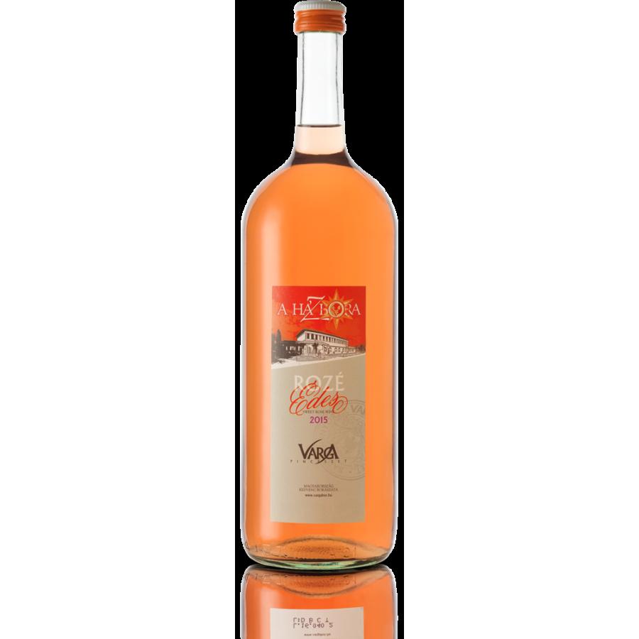Musujące wino różowe 1,5 l, półsłodkie, Badacsony